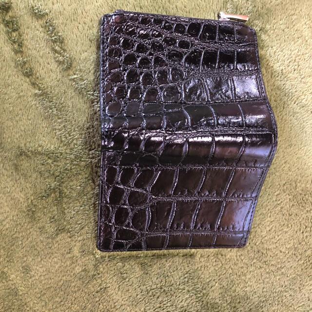 Crocodile(クロコダイル)のクロコダイル財布 メンズのファッション小物(折り財布)の商品写真
