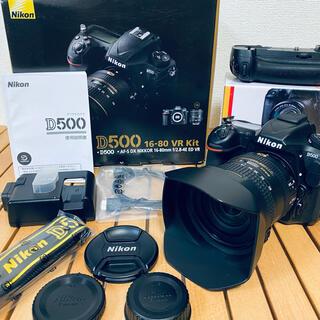 Nikon - 【極上品】Nikon D500 16-80 VR Kit
