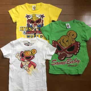 HYSTERIC MINI - ヒステリックミニ Tシャツ 3着 90