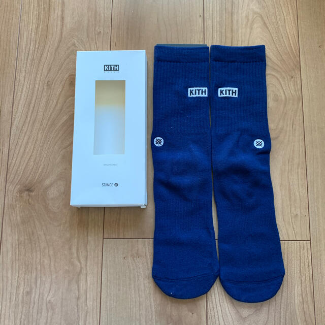 kith x stance スタンス コラボ ソックス3足セット メンズのレッグウェア(ソックス)の商品写真