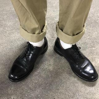 usnavy アメリカ海軍 サービスシューズ ミリタリー 革靴 ドレスシューズ(ドレス/ビジネス)