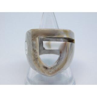 ガルニ(GARNI)の新品 未使用 17号 ガルニ GARNI アクリル リング ロゴ G(リング(指輪))