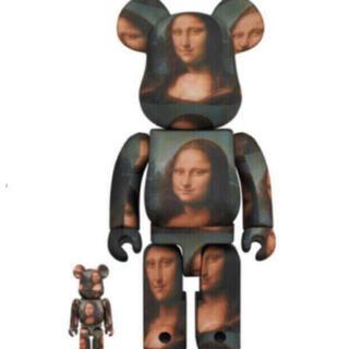 メディコムトイ(MEDICOM TOY)のBE@RBRICK Mona Lisa 100% 400%  モナリザ(キャラクターグッズ)
