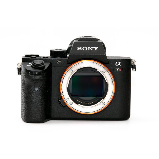 SONY(ソニー)の【美品】SONY ソニー α7RII ボディ ILCE-7RM2 元箱付 スマホ/家電/カメラのカメラ(ミラーレス一眼)の商品写真
