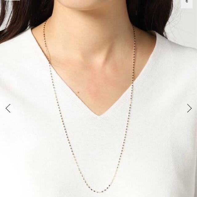ルボンボン☆エクレアロングネックレス レディースのアクセサリー(ネックレス)の商品写真