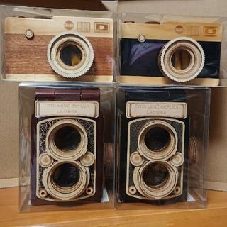 カルディ(KALDI)のカメラ 木箱 コンプリート(菓子/デザート)