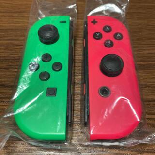 ニンテンドースイッチ(Nintendo Switch)のSwitch ジョイコン ネオングリーン/ネオンピンク(家庭用ゲーム機本体)