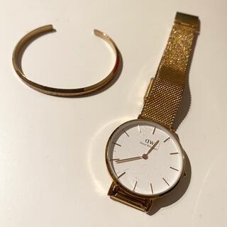 ダニエルウェリントン(Daniel Wellington)のdanielwellington ダニエルウェリントン 腕時計バングルセット(腕時計)