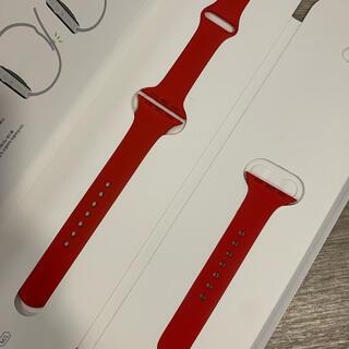 Apple Watch - 新品同様 Apple Watch 38 40mm 純正バンド プロダクトレッド