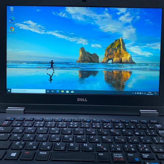 DELL(デル)のMSオフィス付2016年製i7搭載DELL E7270 SSD1テラ IPS液晶 スマホ/家電/カメラのPC/タブレット(ノートPC)の商品写真