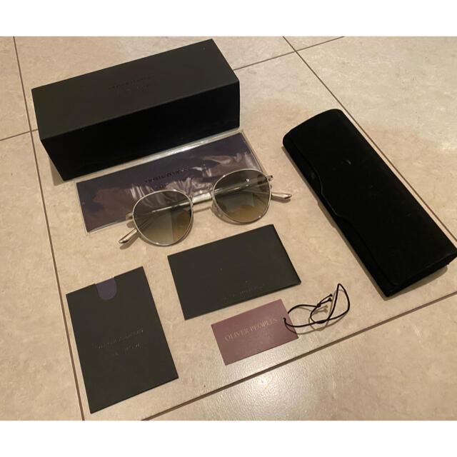 THOM BROWNE(トムブラウン)のOLIVER PEOPLES × THE ROW メンズのファッション小物(サングラス/メガネ)の商品写真