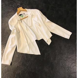 ZARA - ZARA デザインジャケット  ホワイト