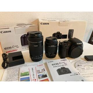 Canon - Canon EOS KISS X8i Wズームキット【少し訳あり】