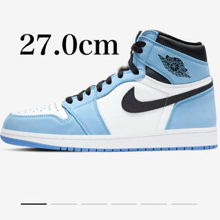 NIKE - 27.0cm AIR JORDAN 1 University Blue