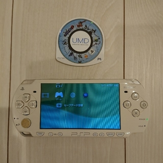PlayStation Portable - 美品☆psp本体☆バッテリー、ゲーム付き。動作OK♪アルコール除菌済