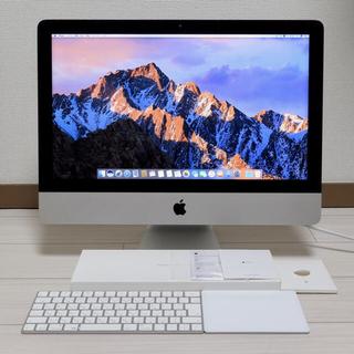 アップル(Apple)のiMac  21インチ4K コアi7 32GB SSD530GB 2017(デスクトップ型PC)