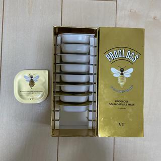 VT プログロス ゴールドカプセルマスク(パック/フェイスマスク)