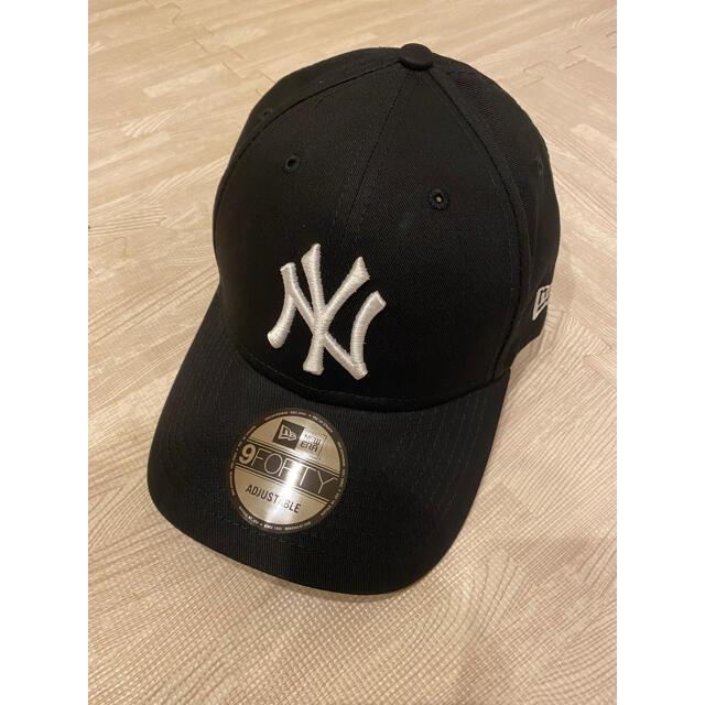 NEW ERA(ニューエラー)のNEW ERA ニューエラ キャップ NY ヤンキース 黒 black ブラック メンズの帽子(キャップ)の商品写真