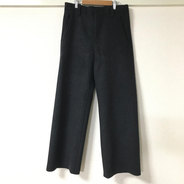 SUNSEA(サンシー)のSUNSEA melton wide pants メンズのパンツ(その他)の商品写真