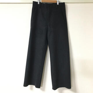 SUNSEA - SUNSEA melton wide pants