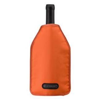 ルクルーゼ(LE CREUSET)のル・クルーゼ アイスクーラー スリーブ オレンジ 1本用(アルコールグッズ)