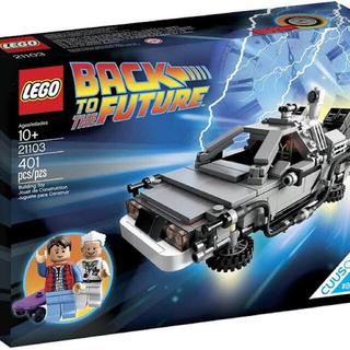 Lego - LEGO レゴ 21103 バック・トゥ・ザ・フューチャー デロリアン