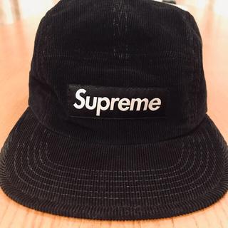 Supreme - Supreme 2013FW Cord Croc Strap Camp Cap