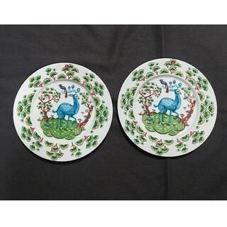 イッタラ(iittala)のイッタラ サツメッサ 2枚組 クラウスハーパニエミ グリーン Iittala (食器)