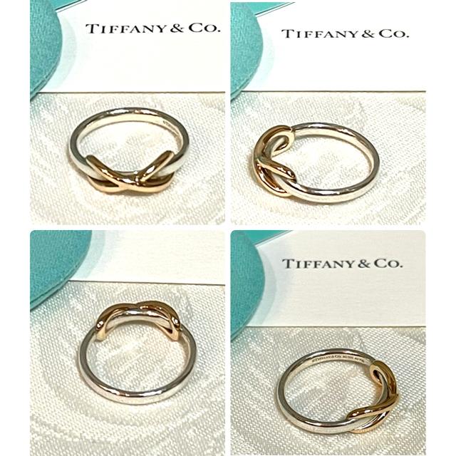 Tiffany & Co.(ティファニー)のティファニー  インフィニティリング 指輪 18Kゴールド×シルバー レディースのアクセサリー(リング(指輪))の商品写真