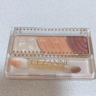 CEZANNE(セザンヌ化粧品) - セザンヌ トーンアップアイシャドウ 06 オレンジカシス(2.6g)