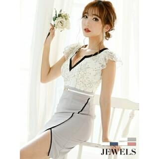 JEWELS - Jewels★レース×パイピング/キャバドレス