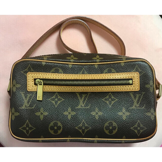 LOUIS VUITTON - LOUIS VUITTON バッグ ポシェット・シテ モノグラムショルダーバッグ