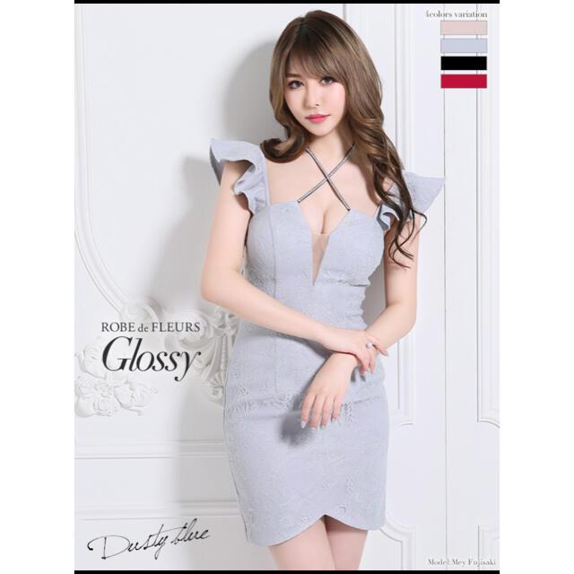 【新品・未使用】ローブドフルール グロッシー キャバドレス レディースのフォーマル/ドレス(ナイトドレス)の商品写真