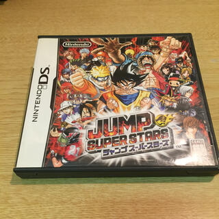 ジャンプスーパースターズ DS    ケースのみ(携帯用ゲームソフト)