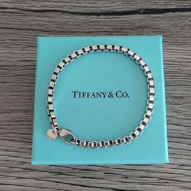 Tiffany & Co.(ティファニー)のTIFFANY ベネチアンシルバーブレスレット レディースのアクセサリー(ブレスレット/バングル)の商品写真