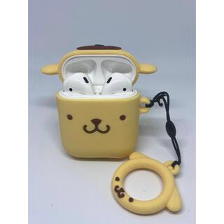 ポムポムプリン(ポムポムプリン)の【売り尽くし】AirPodsケース ポムポムプリン サンリオ(ヘッドフォン/イヤフォン)