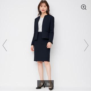 ジーユー(GU)のGU ツイード スーツ スカート(スーツ)