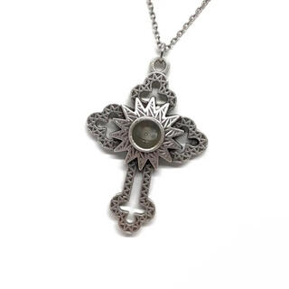 ベツレヘム ストーン 石 透かし 十字架 クロス メダイ カトリック 聖品 教会