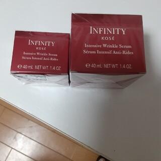 インフィニティ(Infinity)のインフィニティーインテンシブリンクルセラム本体と付け替え用です(美容液)