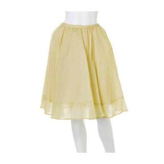 マーキュリーデュオ(MERCURYDUO)のMERCURYDUO シアーカラーギャザースカート(ひざ丈スカート)