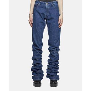 ジャンポールゴルチエ(Jean-Paul GAULTIER)のY PROJECT 2017AW extra long jeans 2mデニム(デニム/ジーンズ)