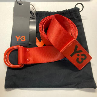 ワイスリー(Y-3)のY-3 LOGO BELT ORANGE ロゴベルト オレンジ(ベルト)
