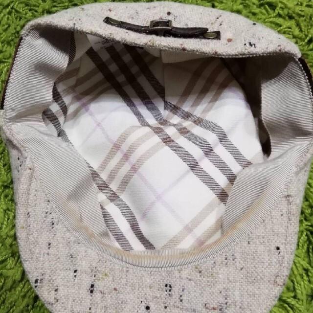 BURBERRY BLUE LABEL(バーバリーブルーレーベル)のバーバリーブルーレーベル レディハンチング帽子 e1065 レディースの帽子(ハンチング/ベレー帽)の商品写真