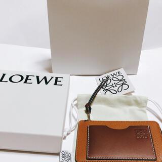 LOEWE - 未使用❗️ロエベ LOEWE コインカードホルダー フラグメントケース