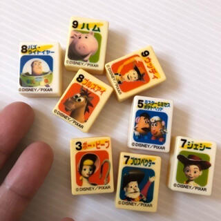Disney - しまいっぱなしの中古 Disney PIXARトイ・ストーリー2 パイのみ 8個
