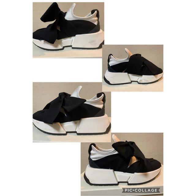 MM6(エムエムシックス)のMM6 リボンスニーカー レディースの靴/シューズ(スニーカー)の商品写真