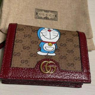 Gucci - 定価66900円 グッチ ドラえもん 財布 ウォレット gucci 二つ折り