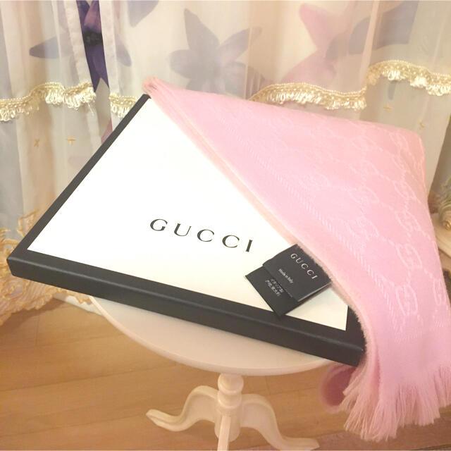Gucci(グッチ)のGUCCI  GGパターンストールマフラー レディースのファッション小物(マフラー/ショール)の商品写真