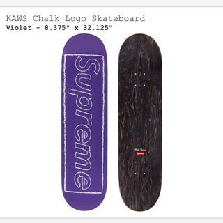 Supreme - supreme KAWS Chalk Logo Skateboard デッキ