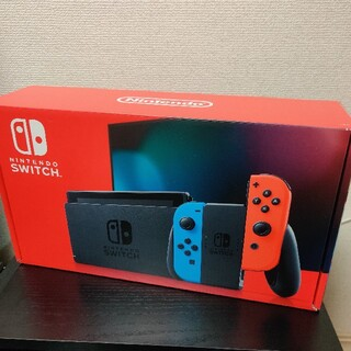 Nintendo Switch - 極美品! 任天堂スイッチ 本体 (L)ネオンブルー/(R)ネオンレッド